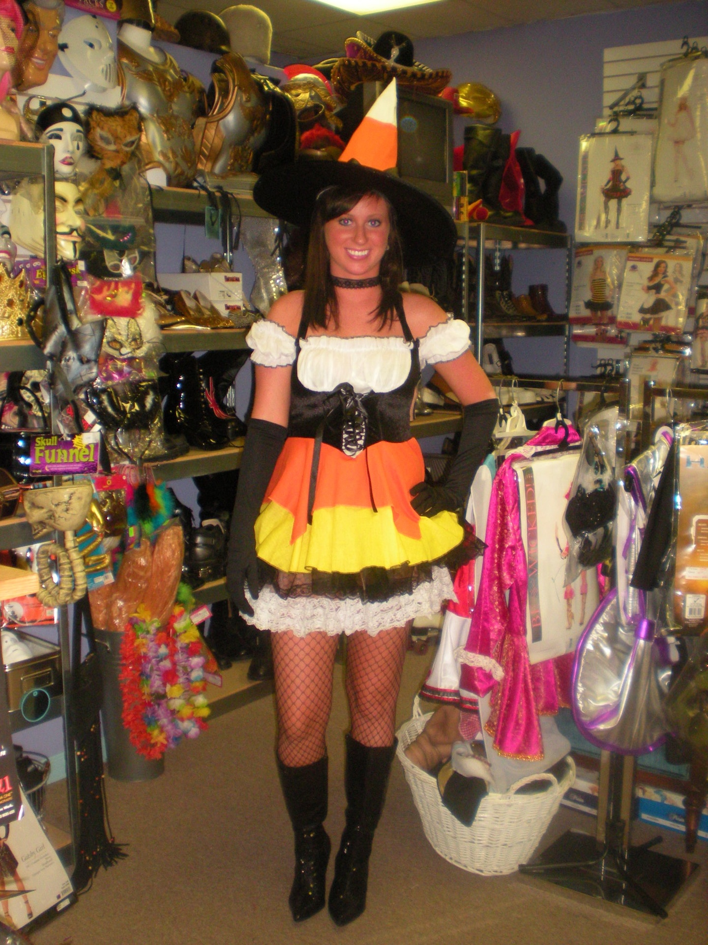 Candy Corn Witch Dreamgirl